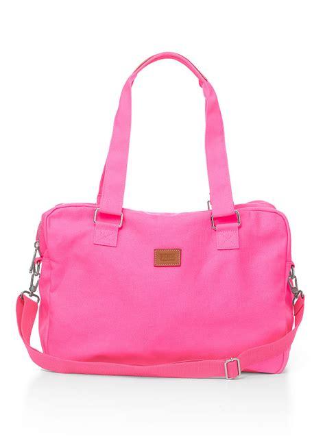 s secret mini duffle in pink neon pink lyst