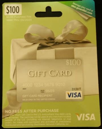 Cash Back Visa Gift Card - where to cash out visa gift cards
