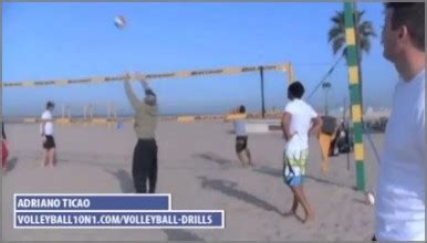 volleyball setting drills for advanced players adriano ticao volleyball1on1