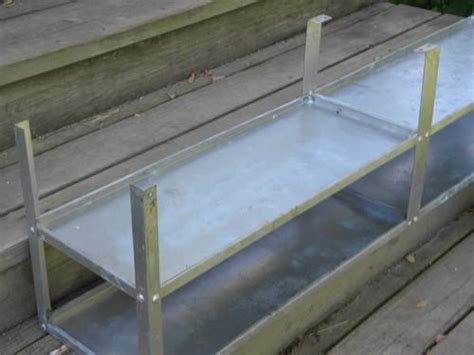 galvanized steel shelves for kitchen pantry or studio