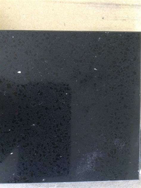 Obsidian Countertops by Hanstone Obsidian Black Quartz Kitchen Countertops New