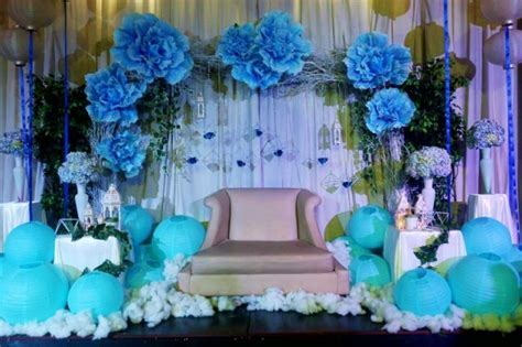 Blue Themed 18th Birthday Celebration   Kasal.com   The