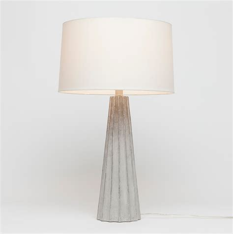 Estelle Concrete Table Lamp Mecox Gardens