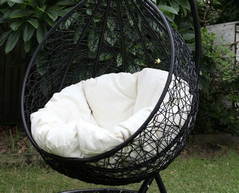 christopher knight home swinging egg outdoor wicker chair outdoor wicker egg chair bring an attractive and