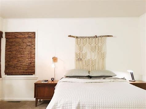 macrame headboard 25 stylish headboard alternatives that will transform your