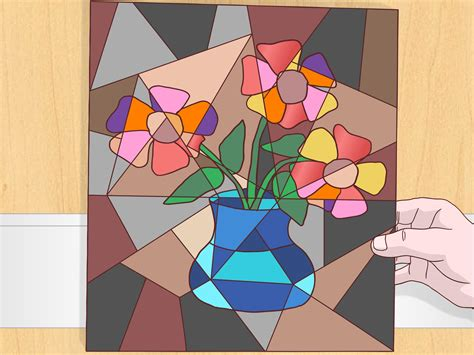 how to paint cubism how to do a cubist style painting 14 steps with pictures