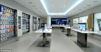electronic dealers mail samsung takes on apple with launch of 60 high street stores in uk and europe daily mail online