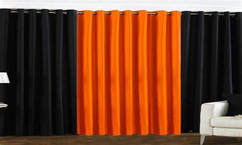 dark orange curtains modern kitchen design in india orange curtains for living