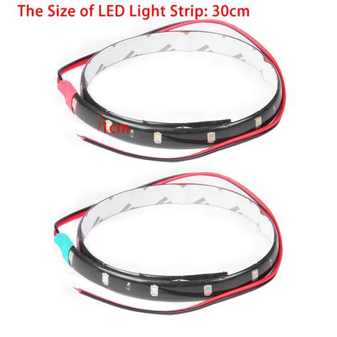 12v Waterproof Led Light Strips 2pcs Boat Navigation Led Green 12v Light For Waterproof Marine Led Strips Ebay