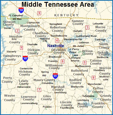 middle tn map process service