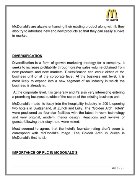 mcdonalds layout strategy mcdonalds layout strategy sle certificate of employment in