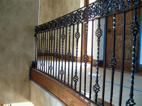 Rot Iron Banister Wrought Iron Stair Railing