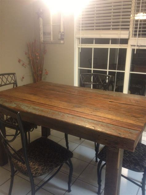 barn wood kitchen tables 53 best images about barn wood kitchen table on