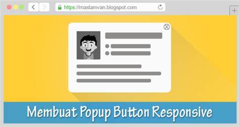 membuat popup html membuat modal popup dengan javascript di blogger