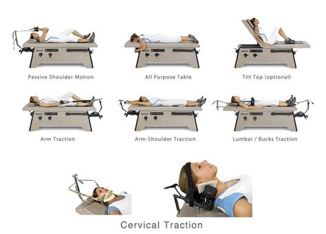 buck traction table anatomotor traction cervical traction