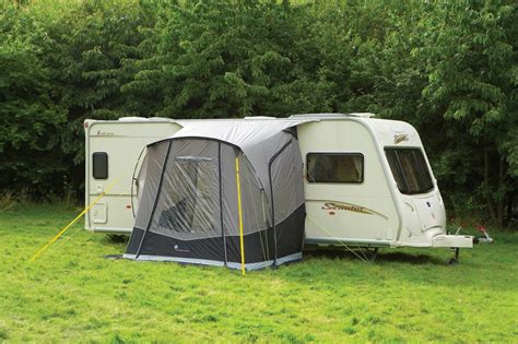 Which Caravan Awning outdoor revolution porchlite square caravan awning with free canopy poles ebay