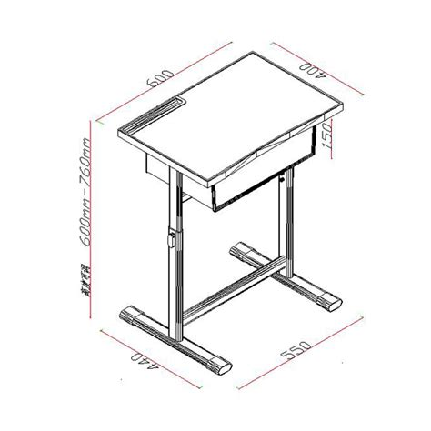 Adjustable Student Desk And Chair School Furniture Student Desk Dimensions