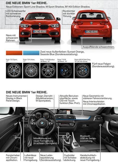 Bmw 1er Zweites Facelift by Facelift F 252 R Den Bmw 1er Enth 252 Llt Alles Auto