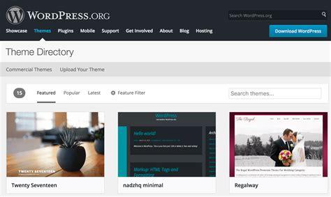 cara membuat tilan wordpress yang menarik cara membuat blog di wordpress