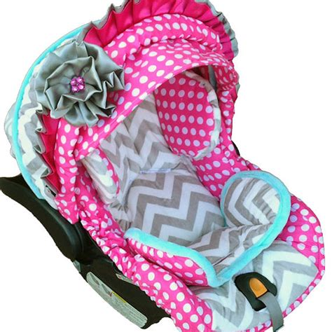 chicco keyfit 30 car seat cover pattern nollie polka dots infant car seat cover the frog and the