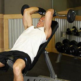 vin diesel bench press seated triceps press exercise guide and video