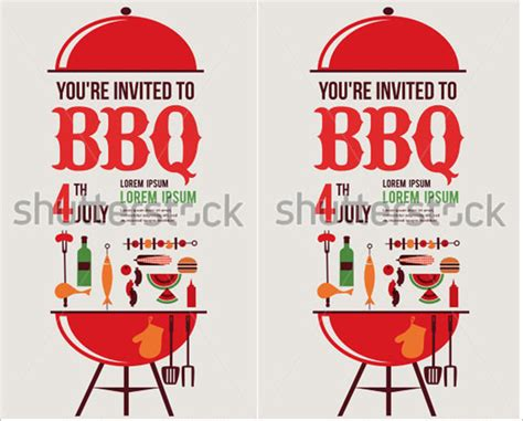 52 bbq invitation templates free premium templates
