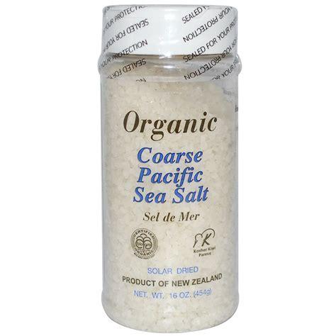 New Zealand Pacific Organic Sea Salt 500 G pri organic coarse pacific sea salt 16 oz 454 g