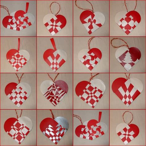 How To Make Woven Paper Hearts - dec 9 alfie makes woven paper hearts leelouz