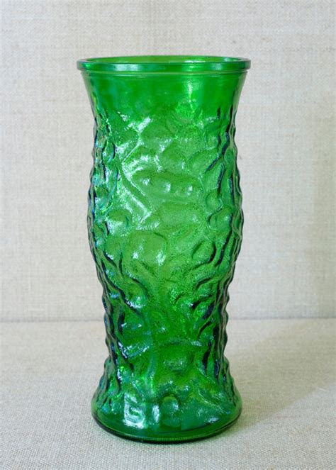 Hoosier Glass Vases by Vintage Hoosier Glass Vase
