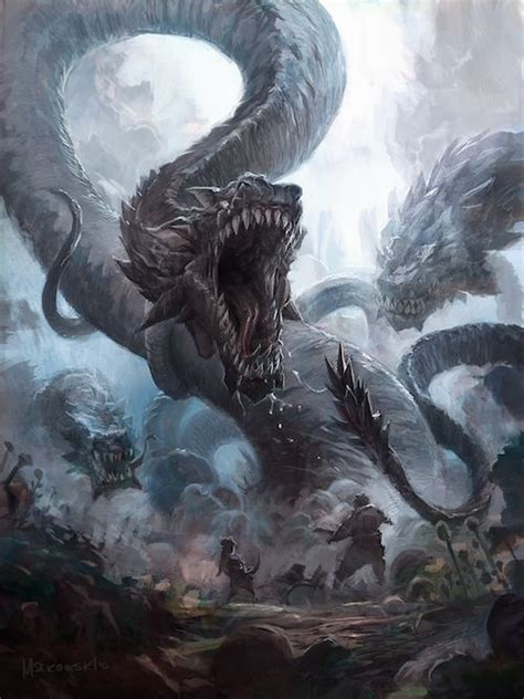 epic film creature battle beast mike d antoni snakes and concept art on pinterest