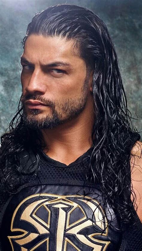 rock and roman reigns just like the rock they got that eyebrow roman reigns