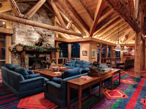 Inside Log Cabins Pictures by Amazing Log Cabin Home In Park City Utah Home Design Garden Architecture Magazine