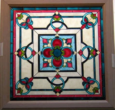 Stained Glass Ceiling Light Panels by 1000 Images About Miniature Stained Glass On