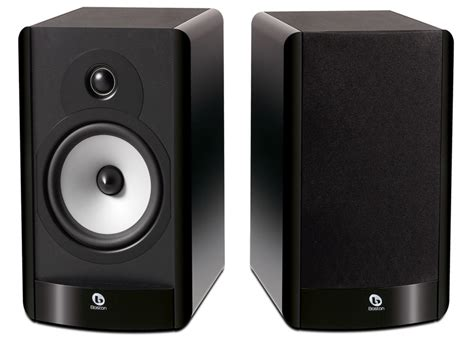 boston acoustics a25 gloss black bookshelf speakers pair