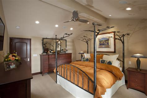 vaulted ceiling bedroom houzz master bedroom w vaulted ceiling saratoga ca