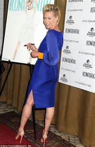 Bathrooms Online Portia De Rossi Makes A Bold Fashion Statement In Blue