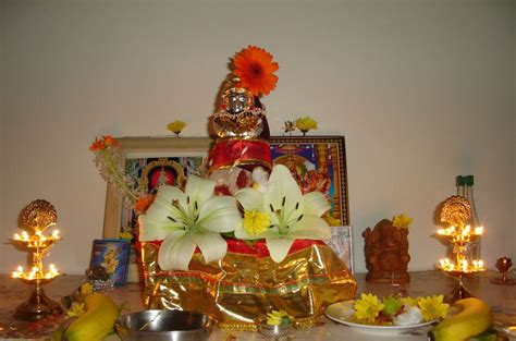 pooja decorations at home pooja room decoration ideas for varalakshmi pooja room