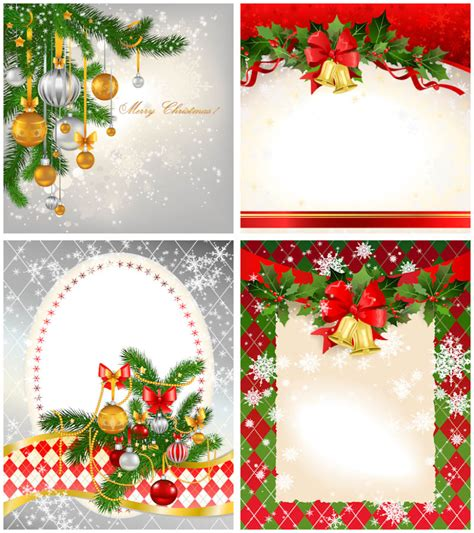 2012 christmas card templates vector vector graphics blog