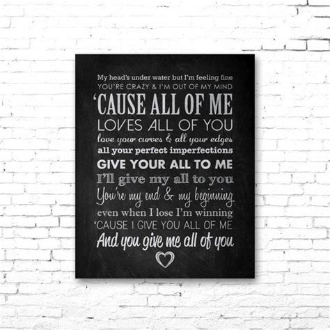 printable lyrics all of me john legend quot all of me quot printable lyrics artwork