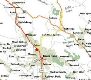 calistoga california map robert louis stevenson trailhead
