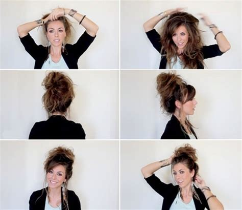 can you get a messy bun look with the bun maker 34 step by step tutorials to get the perfect messy bun