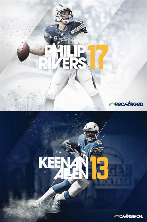 design poster sport san diego chargers 16 on behance