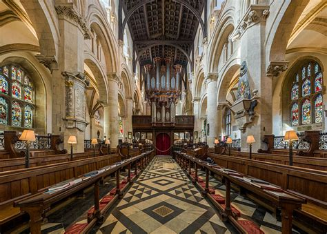 Oxford Interiors by File Church Cathedral Interior 1 Oxford Uk