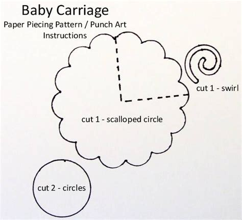 baby stroller template pin by dehghani on c punch