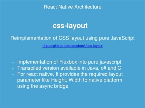 react js flexbox layout react native react ive way to build native mobile apps