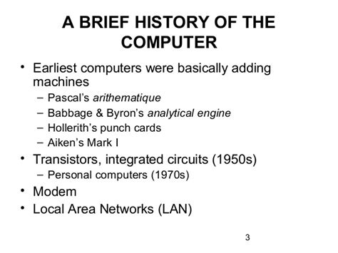 brief history of integrated circuit chapter 12 the and the world wide web