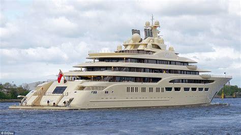 dilbar superyacht delivered to alisher usmanov daily - Yacht Dilbar