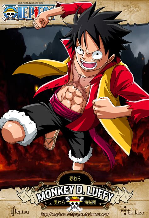 imagenes wasap one piece one piece monkey d luffy by onepieceworldproject on