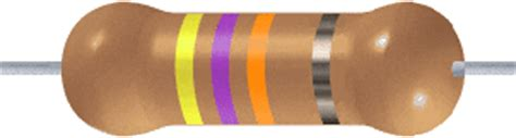 resistor de 4k7 cores hobby eletr 212 nica codigo de cores resistor