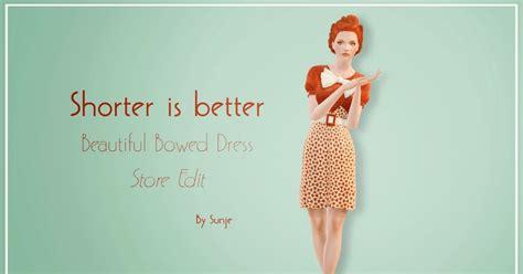 my sims 3 blog pretty my sims 3 blog beautiful bowed dress store edit by sunje